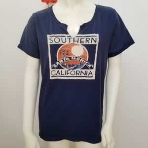 Lucky Brand SoCal Santa Monica Short Sleeve Tee